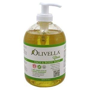 Olivella Classic Face & Body Liquid Soap 10oz 2 PK